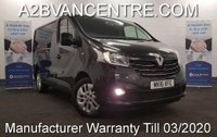 USED 2016 16 RENAULT TRAFIC 1.6 SL27 SPORT ENERGY DCI 120 BHP with Sat Nav Air Con DAB Touchscreen Radio *Over The Phone Low Rate Finance Available*   *UK Delivery Can Also Be Arranged*           ___________       Call us on 01709 866668 or Send us a Text on 07462 824433