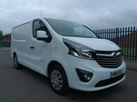 USED 2014 64 VAUXHALL VIVARO 1.6 2700 L1H1 CDTI P/V SPORTIVE 1d 114 BHP ONE OWNER - SERVICE HISTORY - JUST 67000 MILES