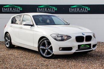 2013 BMW 1 SERIES 2.0 120D SE 5d AUTO 181 BHP £10000.00