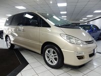 2006 TOYOTA PREVIA 2.4 VVT-I AUTO WHEELCHAIR ACCESSIBLE £6975.00