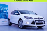 USED 2013 13 FORD FOCUS 1.0 ZETEC 5d 99 BHP FULL DEALER HISTORY, £20 TAX