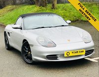 USED 2004 04 PORSCHE BOXSTER 2.7 24V TIPTRONIC S 2d 228 BHP ANY INSPECTION WELCOME ---- ALWAYS SERVICED ON TIME EVERY TIME AND SERVICED MAINLY BY SAME DEALERSHIP THROUGHOUT ITS LIFE,NO EXPENSE SPARED, KEPT TO A VERY HIGH STANDARD THROUGHOUT ITS LIFE, A REAL TRIBUTE TO ITS PREVIOUS OWNER, LOOKS AND DRIVES REALLY NICE IMMACULATE CONDITION THROUGHOUT, MUST BE SEEN FOR THE PRICE BARGAIN BE QUICK, 6 MONTHS WARRANTY AVAILABLE,DEALER FACILITIES,WARRANTY,FINANCE,PART EX,FIRST TO SEE WILL BUY BARGAIN
