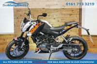 2015 KTM DUKE 125 DUKE ABS - Low miles! £2995.00