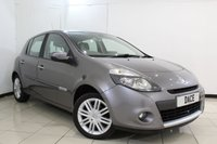 USED 2009 59 RENAULT CLIO 1.6 INITIALE TOMTOM VVT 5DR 110 BHP LEATHER SEATS + SAT NAVIGATION + PARKING SENSOR + CRUISE CONTROL + AUXILIARY PORT + RADIO/CD + 16 INCH ALLOY WHEELS