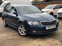 2015 SKODA SUPERB 2.0 SE BUSINESS TDI CR 5dr 138 BHP £7900.00