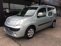 USED 2012 12 RENAULT KANGOO 1.6 EXPRESSION 16V 5d AUTO 105 BHP WHEELCHAIR ACCESS  WAV Low mileage, Automatic Wheelchair access