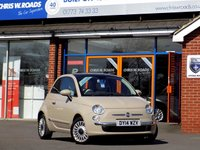 USED 2014 14 FIAT 500 1.2 LOUNGE 3dr * Pan Roof * ** 1 Private Owner **