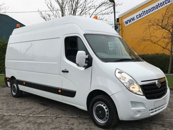 2014 VAUXHALL MOVANO 2.3 F3500 L3H3 CDTI 125 LWB [ MOBILE WORKSHOP ] HIGH ROOF VAN,LOW MILEAGE 36K   £11950.00