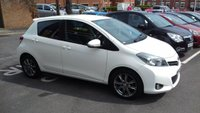 USED 2012 62 TOYOTA YARIS 1.3 VVT-I SR 5d 98 BHP CHEAP TO RUN AND EXCELLENT SPECIFICATION WITH LEATHER TRIM, PRIVACY GLASS, AIR CONDITIONING, ALLOY WHEELS, AND AUXILIARY INPUT/USB!