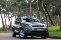 USED 2017 17 LAND ROVER DISCOVERY SPORT 2.0 TD4 PURE SPECIAL EDITION