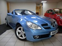 2010 MERCEDES-BENZ SLK 1.8 SLK200 KOMPRESSOR 2d AUTO 184 BHP £9750.00