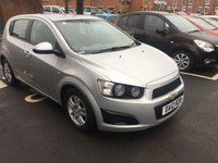 USED 2012 12 CHEVROLET AVEO 1.2 LT 5d 85 BHP CHEAP TO RUN WITH LOW CO2 EMISSIONS(111G/KM)..£30 ROAD TAX AND VERY GOOD FUEL ECONOMY!  SPECIFICATION INCLUDES AIR CONDITIONING, AUXILLIARY ,USB AND ALLOY WHEELS!