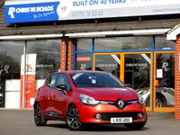USED 2015 15 RENAULT CLIO 1.5 DCi DYNAMIQUE MEDIANAV 5dr AUTO ** Only 14000 miles **