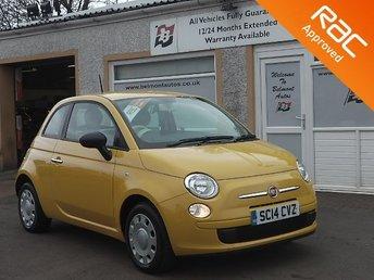2014 FIAT 500 1.2 POP 3d 69 BHP £4699.00