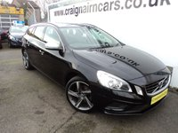 USED 2013 62 VOLVO V60 2.0 D3 R-DESIGN 5d 134 BHP Two Owners Since New Full Service History