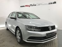 2014 VOLKSWAGEN JETTA 2.0 S TDI BLUEMOTION TECHNOLOGY 4d 109 BHP £9599.00