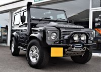 2010 LAND ROVER DEFENDER 90 2.4 90 TD XS STATION WAGON ONLY £210 P/YEAR ROAD TAX £25990.00