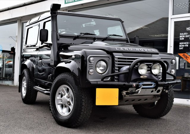 2010 60 LAND ROVER DEFENDER 90 2.4 90 TD XS STATION WAGON ONLY £210 P/YEAR ROAD TAX