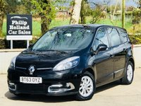 2014 RENAULT GRAND SCENIC 1.5 DYNAMIQUE TOMTOM ENERGY DCI S/S 5d 110 BHP 7 SEATS £8495.00