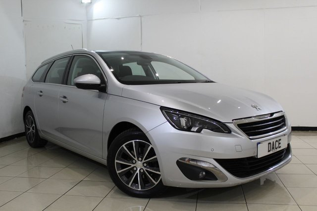 View our 2015 15 PEUGEOT 308 1.6 BLUE HDI S/S SW ALLURE 5DR 120 BHP