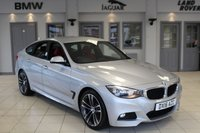 USED 2016 16 BMW 3 SERIES 3.0 330D M SPORT GRAN TURISMO 5d AUTO 255 BHP FULL RED LEATHER SEATS + BMW SERVICE HISTORY + SAT NAV + BLUETOOTH + XENON HEADLIGHTS + HEATED FRONT SEATS + 18 INCH ALLOYS + CRUISE CONTROL + PARKING SENSORS
