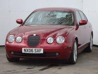 2006 JAGUAR S-TYPE 2.7 V6 SPORT 4d 206 BHP £3488.00