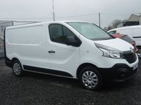 2014 RENAULT TRAFIC 1.6 SL27 BUSINESS ENERGY DCI S/R P/V 1d 120 BHP AIR CON £7995.00