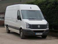 USED 2014 64 VOLKSWAGEN CRAFTER 2.0 CR35 TDI H/R P/V BMT 1d 113 BHP LWB NO VAT TO PAY - VAT INCLUDED