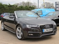 2014 AUDI A5 CABRIOLET 2.0 TDI S LINE SPECIAL EDITION 2d 175 BHP £17500.00