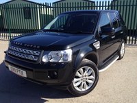 2011 LAND ROVER FREELANDER 2 2.2 SD4 HSE 5d AUTO 190 BHP FACELIFT PAN ROOF SAT NAV LEATHER SIDE STEPS FSH £12490.00