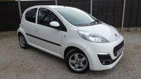 USED 2013 63 PEUGEOT 107 1.0 ALLURE 5dr £0 Road Tax, Bluetooth, FPSH