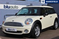 2010 MINI CLUBMAN 1.6 ONE 5d 98 BHP £SOLD