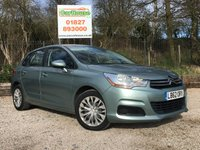 USED 2013 62 CITROEN C4 1.6 VTR HDI 5dr £20/yr Tax, Cruise Control