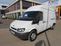 USED 2006 06 FORD TRANSIT 2.4 350 115 BHP L1 H1 LWB HIGH ROOF NO VAT 2 OWNER FROM NEW, LONG WHEELBASE