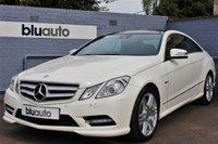 2012 MERCEDES-BENZ E 350 3.0 CDI BLUE EFFICIENCY SPORT COUPE AUTO 265 BHP £16495.00