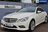 2012 MERCEDES-BENZ E 350 3.0 CDI BLUE EFFICIENCY SPORT COUPE AUTO 265 BHP £14995.00