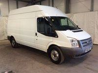 USED 2013 13 FORD TRANSIT 2.2 350 H/R 1d 124 BHP