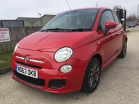 2014 FIAT 500 1.2 S 3d 69 BHP £5490.00