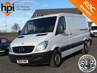 2010 MERCEDES-BENZ SPRINTER 2.1 313 CDI MWB LOW ROOF £5490.00