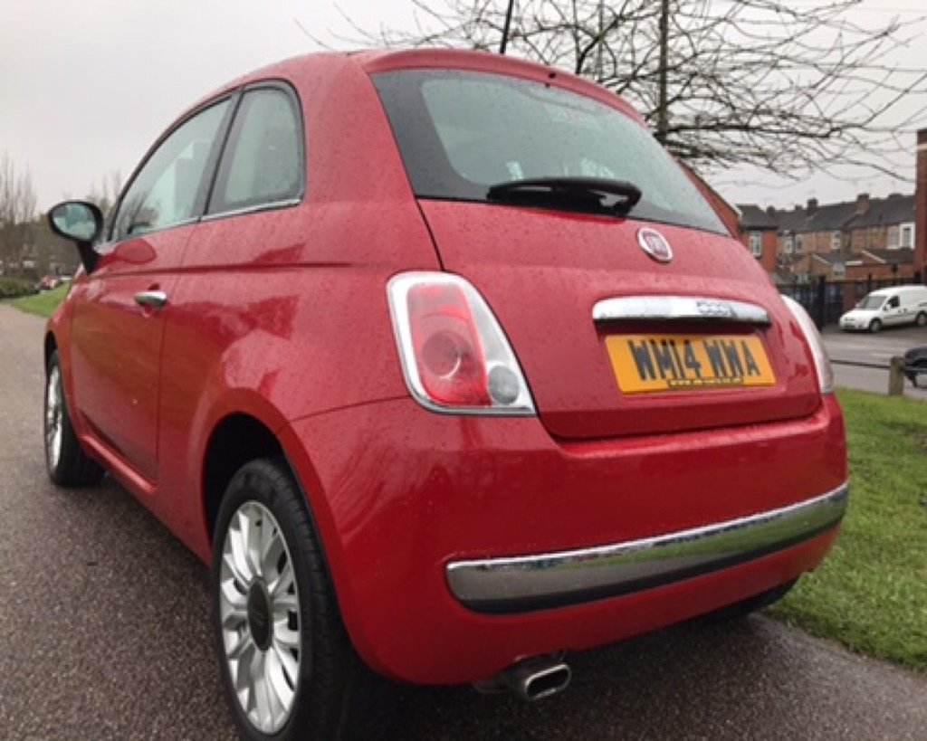 2014 Fiat 500 Lounge 6299 Spare Tire Location Used 14 12 3d 69 Bhp Low Tax Insurance