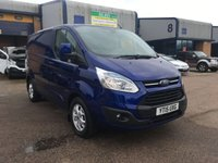 2015 FORD TRANSIT CUSTOM 2.2 270 LIMITED LR P/V 1d 124 BHP £13295.00