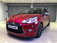 USED 2013 63 CITROEN DS3 1.6 E-HDI AIRDREAM DSPORT PLUS 3d 111 BHP FULL LEATHER SEATS + FREE ROAD TAX
