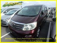 USED 2002 02 TOYOTA ALPHARD TOYOTA ALPHARD 3.0 MZ 7 Seats Only 50600 Miles. Gorgeous Black Cherry Pearl +50K+CAMERA+SUNROOF+CURTAINS+