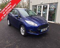 USED 2017 17 FORD FIESTA 1.0 ZETEC NAVIGATOR ECOBOOST (100ps) THIS VEHICLE IS AT SITE 1 - TO VIEW CALL US ON 01903 892224