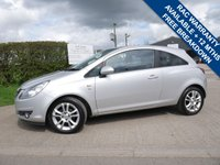 USED 2011 60 VAUXHALL CORSA 1.2 SXI A/C 3d 83 BHP LOW MILES, SERVICE HISTORY, 2 KEYS AND EXCELLENT CONDITION