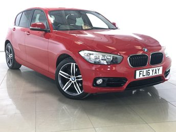 2016 BMW 1 SERIES 1.5 118I SPORT 5d 134 BHP £14790.00