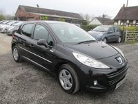 USED 2010 60 PEUGEOT 207 1.4 MILLESIM 5DR ALLOYS  CD AIRCON