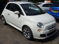 USED 2014 64 FIAT 500 0.9 TWINAIR S (SPORT) 3d 85 BHP One Owner from new, Full Fiat Service History + Just Serviced by ourselves, Minimum 9 months MOT, Excellent on fuel economy! ZERO Road tax!