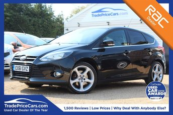 2011 FORD FOCUS 1.6 TITANIUM 5d 148 BHP £6950.00