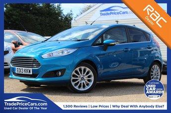 2013 FORD FIESTA 1.0 TITANIUM X 5d 124 BHP £8950.00